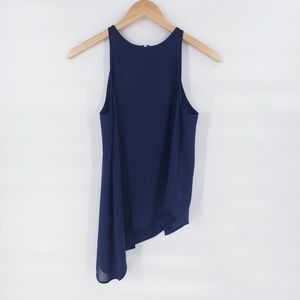H&M Tank Top Navy Blue Blouse - Size 4